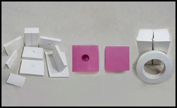 氧化铝耐磨陶瓷贴片的施工技术方案