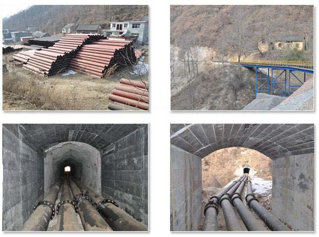 陶瓷复合钢管工程案例:栾川万吨尾矿库